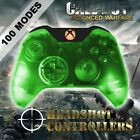 Xbox One/S Clear Green With Orange LED Rapid Fire Paddle Controller BF1-IW-GOW4