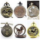 High Quality Table  pocket watch necklace pendant for Men or Women Multi Choices image