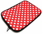 "Soft Premium Neoprene Zip Case Cover Sleeve for 8"" Inch Tablets & Free Stylus"