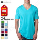 Next Level Mens Ultra Soft Premium Fit Short Sleeve V Neck T-Shirt M-N3200 image