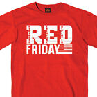 Red Friday American Flag Remember Everyone Deployed Design T Shirt #SB362