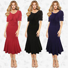 Women Sexy Formal Evening Party Long Prom Spring summer fishtail dress