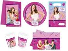 Disney VIOLETTA Birthday PARTY RANGE (Tableware Balloons & Decorations)