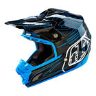 NEW 2016 TROY LEE DESIGNS SE3 CARBON DOUBLE SHOT DIRT MX OFFROAD HELMET ALL SIZE
