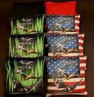 Custom Patriotic Air Force Military Jets 8 ACA Regulation Cornhole  bags B76