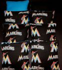 NEW FLORIDA MARLINS MLB 8 CORNHOLE BEAN BAGS/ BAGGO/TOSS Top Quality Handmade! on Ebay
