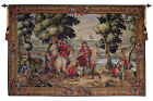 Les Sonneurs du Roi Les Tambours French Medieval Hunting Wall Tapestry