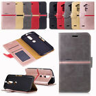New Design Flip PU Leather Wallet Case Cards Holder Stand Cover For Motorola G4