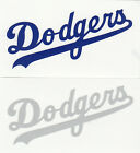 REFLECTIVE Los Angeles Dodgers script decal sticker up to 12 inches LA on Ebay