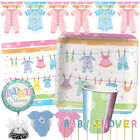 BABY CLOTHES Baby Shower Party Range {Creative} Tableware Balloons & Decorations