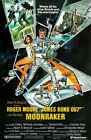 JAMES BOND MOONRAKER  FILM MOVIE METAL TIN SIGN POSTER WALL PLAQUE £12.99 GBP on eBay