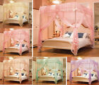 Princess Four Corner Post Bed Canopy Mosquito Netting Canopy Or Frame/Post