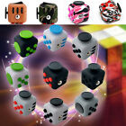 Fidget Fun Cubes Anxiety Stress Relief attention Focus 6side Dice Toy For Kids