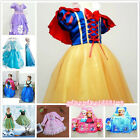 Girl Princess Sofia The First Anna Childs Dresses Kids Party Costume