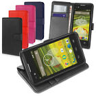 COTECHS SLIM FLIP STAND WALLET LEATHER CASE FOR EE ROOK WITH CREDIT CARD SLOTS