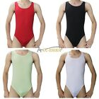 Men's Stretchy Thong Leotard Mesh Body Shaper Sports Lingerie Underwear Bodysuit