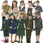Child WW2 Evacuee Boy Girl 1940's 40's Army Book Week Kids Fancy Dress Costume