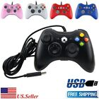 New USB GamePad Controller For Microsoft Xbox 360 Console / PC Windows US SELLER