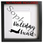 Holiday Fund Box Frame Sticker Vinyl Decal. Ribba Ect