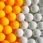 10/50 X Hot Wholesale Budget Plastic Table Tennis Ping Pong Balls Training Sport