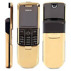 Nokia 8800 GSM Unlocked Mobile Phone Symbian Slider Black/Silver/Gold US