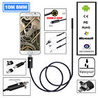 6 LED Waterproof 7mm Lens Endoscope Snake Inspection Camera For Android Phones