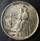 1925 50c Stone Mountain Commemorative Silver Half Dollar
