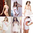 Sexy Costume Cosplay Women Lady Nurse Uniform Lingerie Fancy Dress 6 Types N98B
