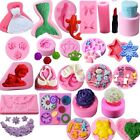 88 Silicone Fondant Cake Mould Decorating Mold Chocolate Baking Sugarcraft Tool