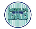 best cookie sheets - World's Best Dad Father's Day ~ Frosting Sheet Cake Topper ~ Edible ~ D22234