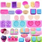 Silicone Fondant Chocolate Baking Mould Ice Cube Cake Candy  Soap Candle Mold