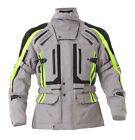 RST Mens Paragon 5 Waterproof Motorcycle Jacket - Silver/Yellow Touring Winter S