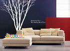 "Wall Decor Decal Sticker Removable large 90"" tree trunk"