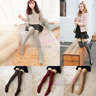 Winter Ladies Cable Knit Over knee Long Boot Thigh-High Warm Cozy Socks Leggings