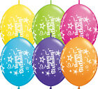 "10 x 12"" Quick Link Message Qualatex Latex Balloons - Birthday, Baby Girl -Boy"