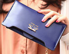 Women Wallet Soft PU Leather Bowknot Clutch Bag ID Credit Card Purse Coin Holder