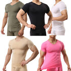 Mens Bodybuilding Muscle Tight Fit T-shirt Long Johns Sexy Boxer Briefs Thongs