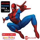 Spiderman Wall Sticker Decor Movable Removable Decal Home Reusable Stickers Kids