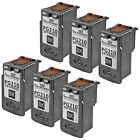 6 Pack Canon PG-210 PG210 2974B001 Black Reman for Pixma Printers