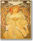 HUGE MUCHA Reverie 1897 Stretched Canvas Giclee Art Print Repro ALL SIZES