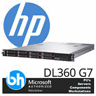 HP ProLiant DL360 G7 2x Intel Xeon Quad / Hex Core 144GB RAM Rackable Server 1U