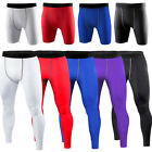 Men's Sports Compression Tights Base Layer Under Long Pants Gym Workout Trousers