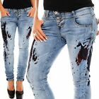 Rock Angel Damen Jeans Brook LRA-053 Damenjeans Jeanshose Damenhose denim Hose