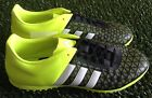 AUTHENTIC ADIDAS ACE 15.3 TF ASTRO TURF TRAINERS BLACK -WHITE-YELLOW