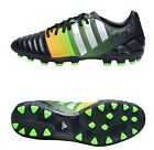 Adidas Men Cleats Nitrocharge 3.0 AG Soccer Football Black Shoes Boots M29886