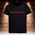 Black T-shirt Pioneer Corp Men's Tee Size S to 3XL