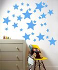 Mixed size Stars Wall Stickers Kid Decal Art Nursery Bedroom Vinyl Decoration