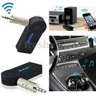 3.5MM AUX BLUETOOTH ADATTATORE RICEVITORE AUDIO MUSICA STEREO CASA AUTO WIRELESS