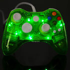New Glow Light USB Wired Controller Gamepad for PC Windows & Microsoft Xbox360