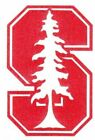 REFLECTIVE Stanford Cardinals fire helmet decal sticker up to 12 inches